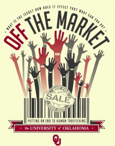Image of Off the Market t-shirt and logo